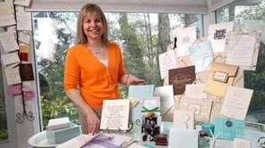 Deborah Nadel is a longtime wedding invitation designer.