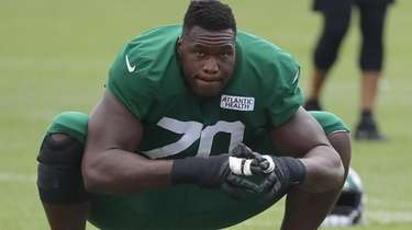 Jets guard Kelechi Osemele, an All-Pro with Oakland