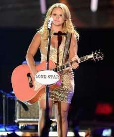 Miranda Lambert performs at the 2012 CMT Music