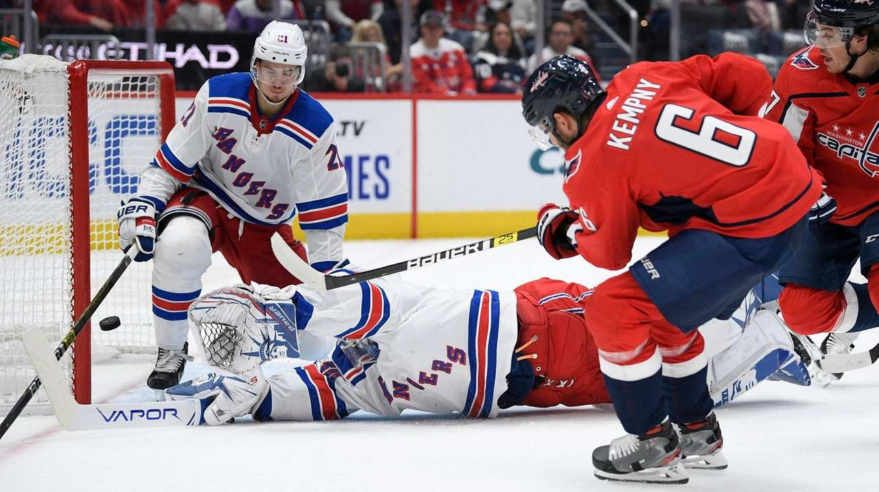 Rangers' changes don't work in loss to Capitals
