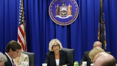 Janet DiFiore, chairwoman of the New York State
