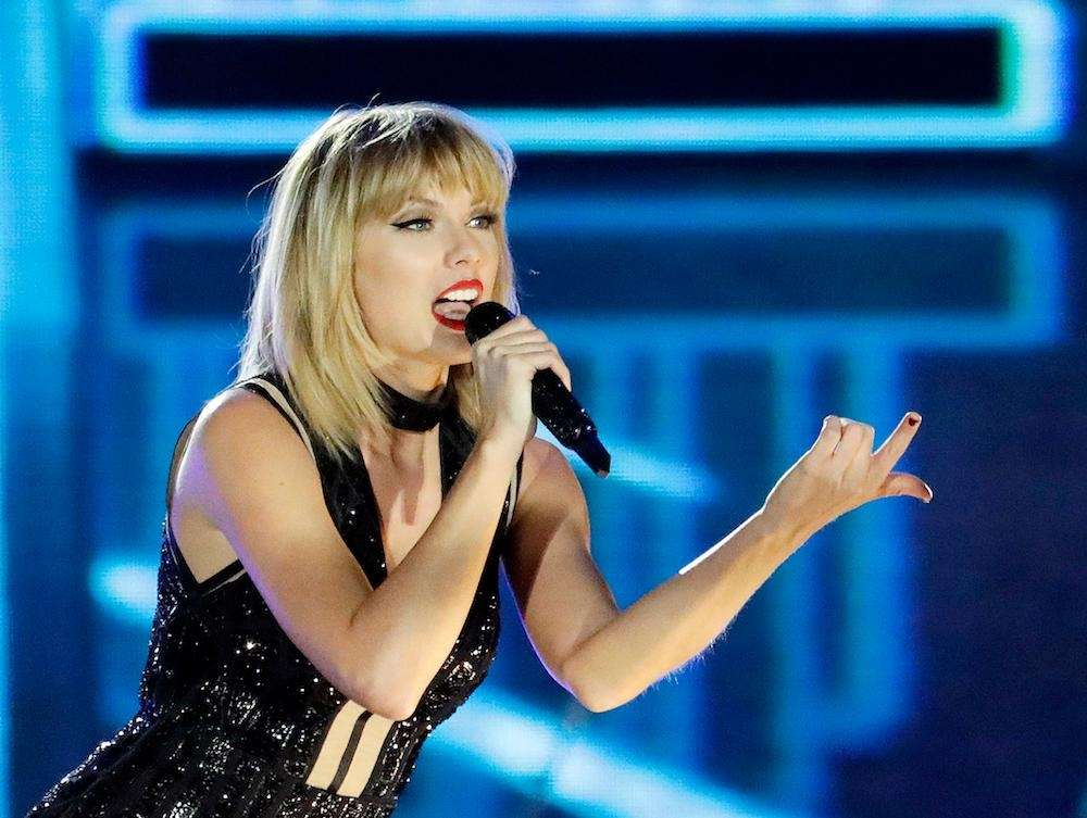 Taylor Swift at the 47th annual Academy of