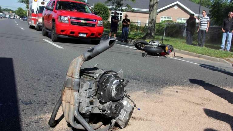 Nassau County police are investigating an accident Thursday