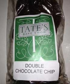 Double chocolate chip cookies at Tate's, Southampton.