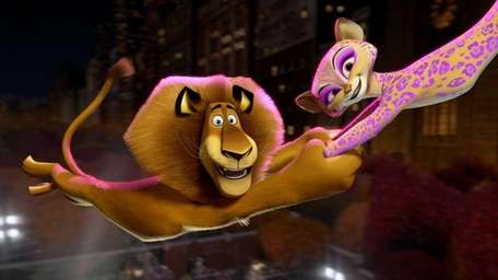This film image released by DreamWorks Animation shows,
