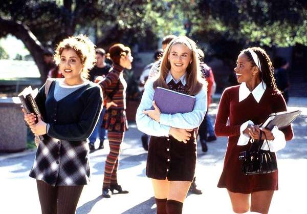 Brittany Murphy (from left), Alicia Silverstone and Stacey