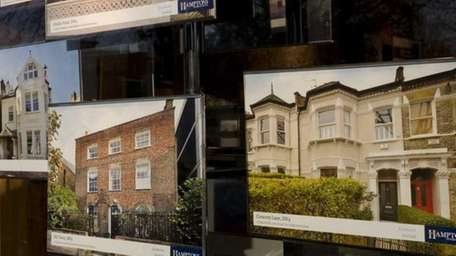 Photographs of properties are on view in the