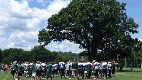 Jets at the conclusion of their final OTA