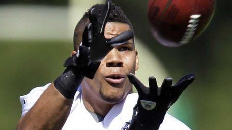 New York Jets wide receiver Chaz Schilens makes