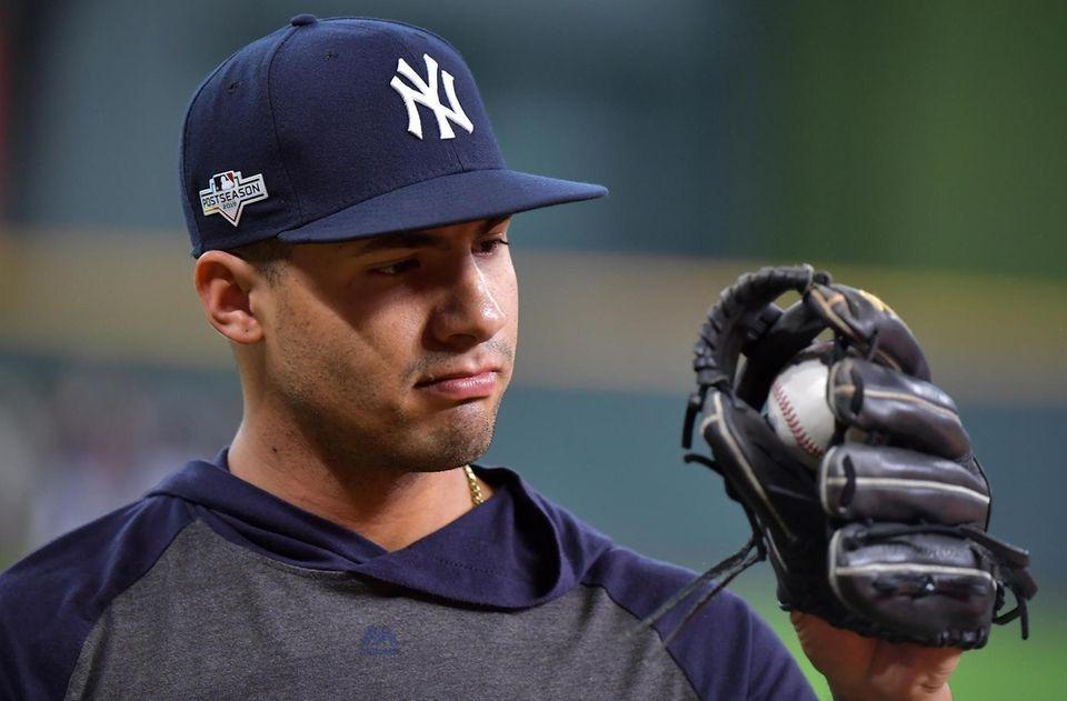 New York Yankees second baseman Gleyber Torres (25)
