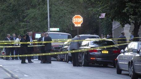 Police probe a triple shooting near Columbia University