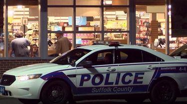 An armed man stole a car from a