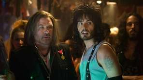 Alec Baldwin as Dennis Dupree and Russell Brand