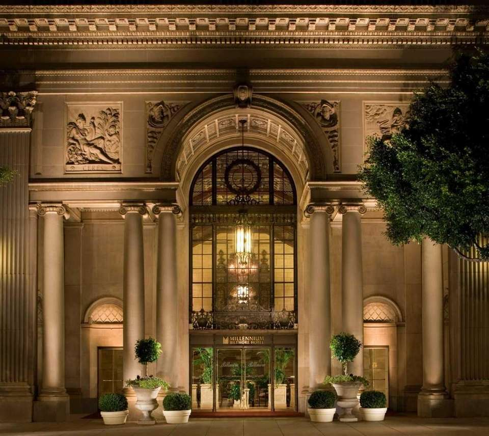 The Millennium Biltmore Hotel was featured in
