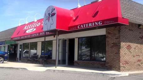 The former Attilio's Grill in St. James. (May