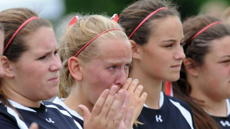 Pierson players react to a 12-1 lose to