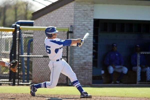 Hofstra outfielder Danny Poma in 2012 action.
