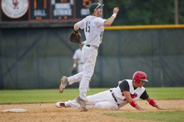 NYSPHSSAA 2012 Baseball Championships, Class A semi-finals. Plainedge