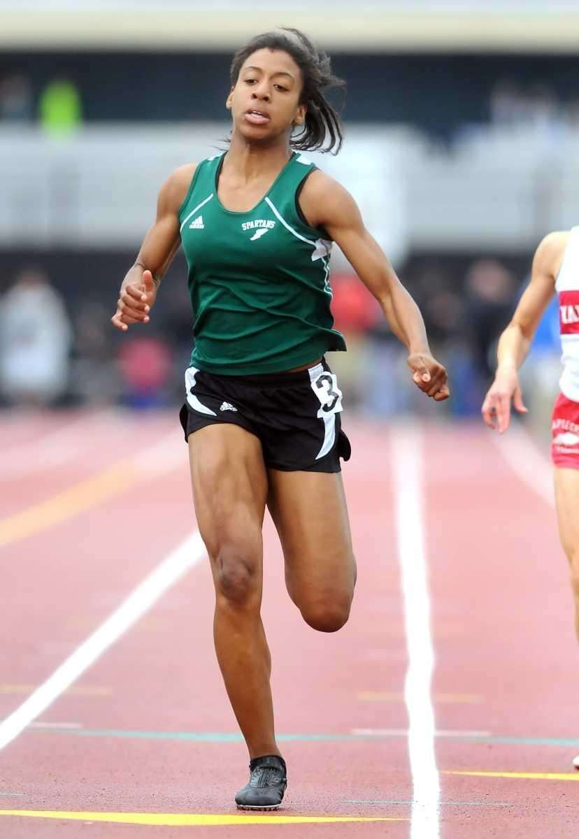 Vallet Stream North's Shanice Johnson finished third in