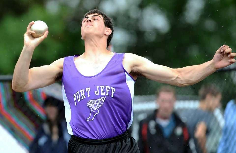 Port Jefferson's David Grier placed fifth in the
