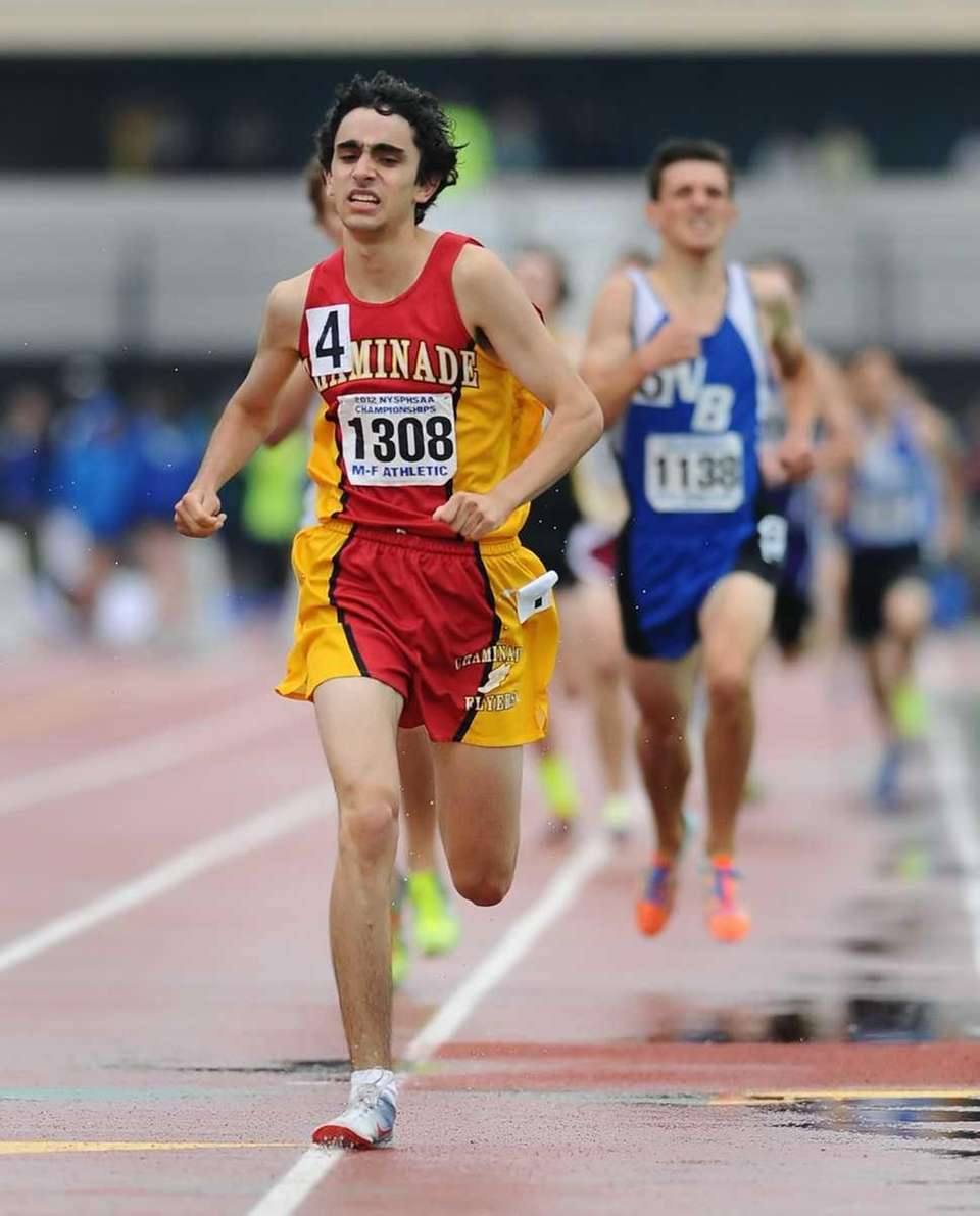 Chaminade's Thomas Awad competes in the boys 1600