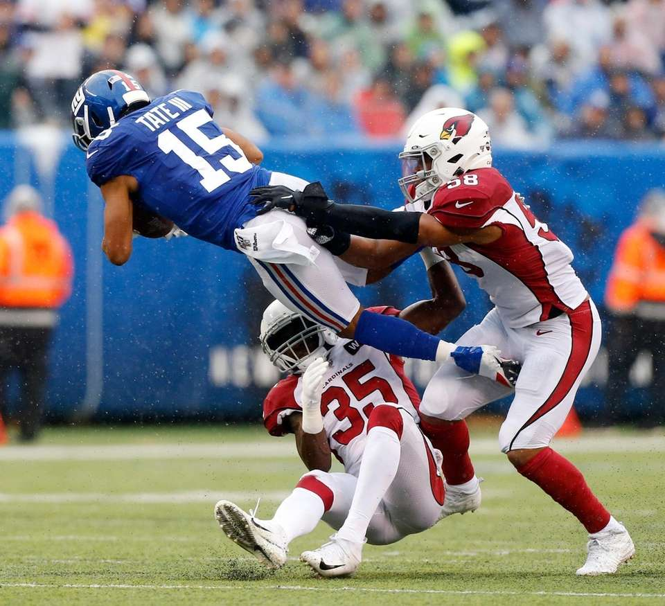 Golden Tate #15 of the New York Giants