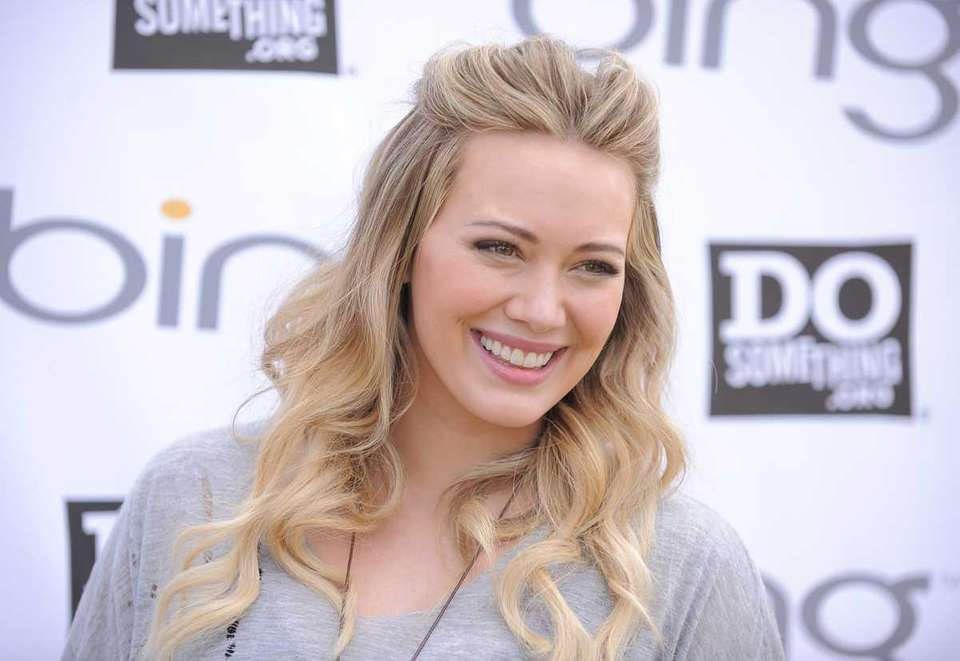 Hilary Duff first made a name for herself