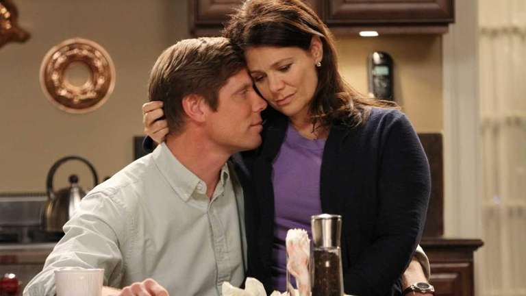 Meredith Salenger and Brian Letscher in