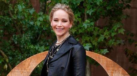 Jennifer Lawrence, seen here during fashion week in