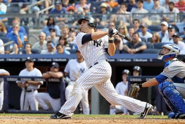 Russell Martin (55) of the New York Yankees