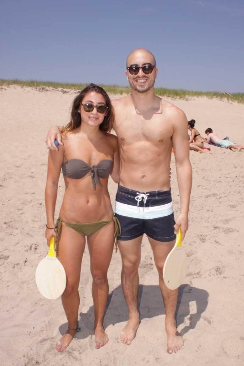Sasha Rudes and Justin Feinberg of Manhattan at