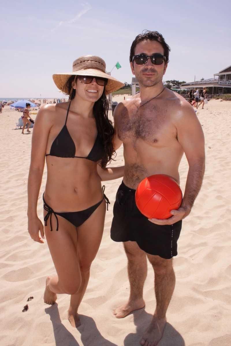 Sal Strazzullo and Allison Cronin, former Miss Massachusetts