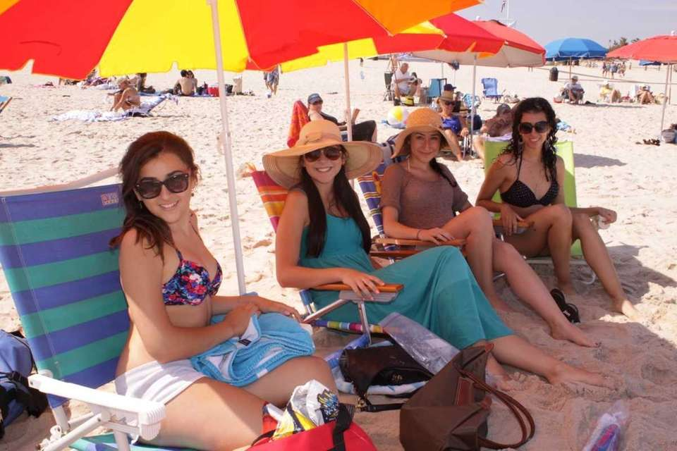 Connie Raptis, Kellie Gergoudis, Stephanie Gergoudis and Joanne
