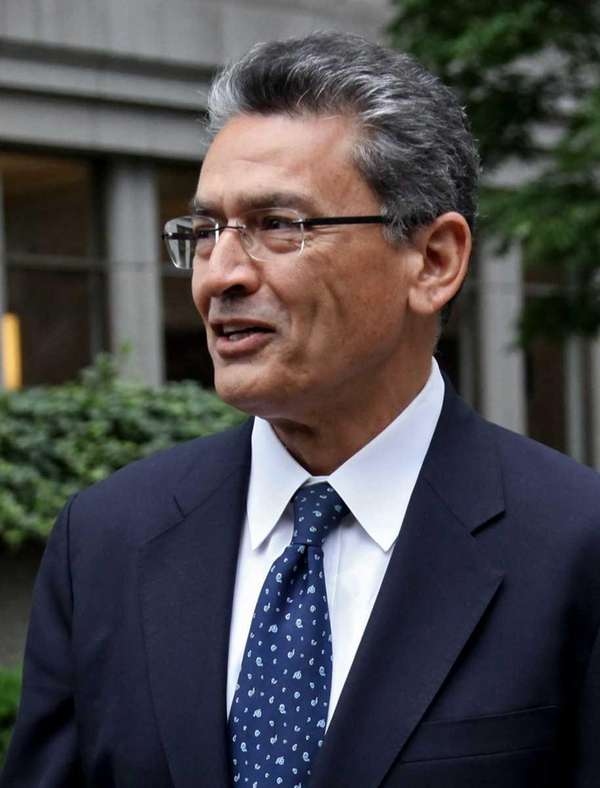Rajat Gupta, former Goldman Sachs board member, walks