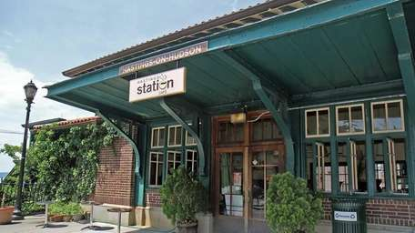 A view of the Hastings Station Cafe which