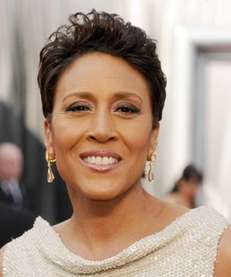 Monday August 27, 2012 4:13 PM By Verne Gay. TV anchor Robin Roberts arrives ...
