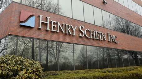 Henry Schein headquarters in Melville, seen on March
