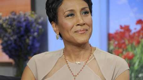 """Robin Roberts on """"Good Morning America"""" after announcing"""
