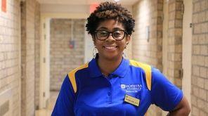 History professor Katrina Sims lives full time in