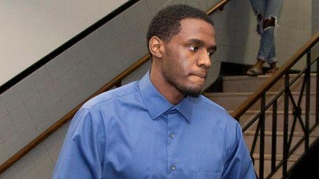 Haakim Mechan at Nassau County court on Oct.