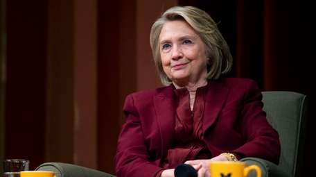 Hillary Clinton lectures on foreign policy at Rackham