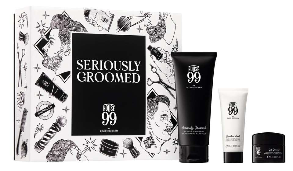 The Seriously Groomed set by David Beckham will