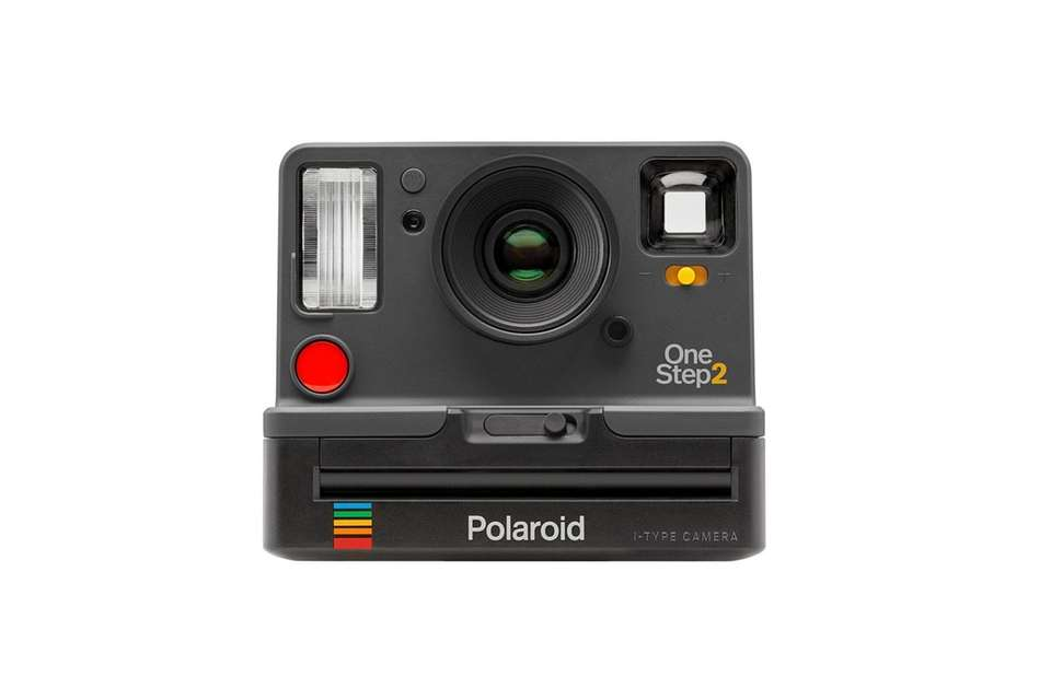 Capture every moment with this Polaroid instant camera;