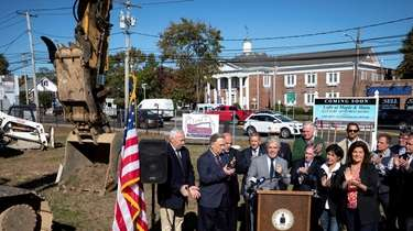 A groundbreaking ceremony Monday was held at the