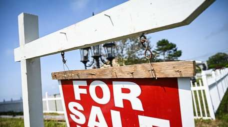 The number of home sales fell by 4