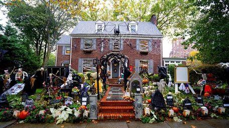Halloween House, Great Neck.