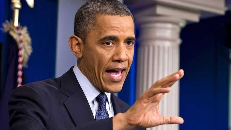 President Barack Obama speaks at the White House