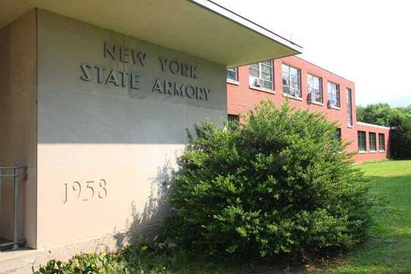 New York State Armory on East 5th Street