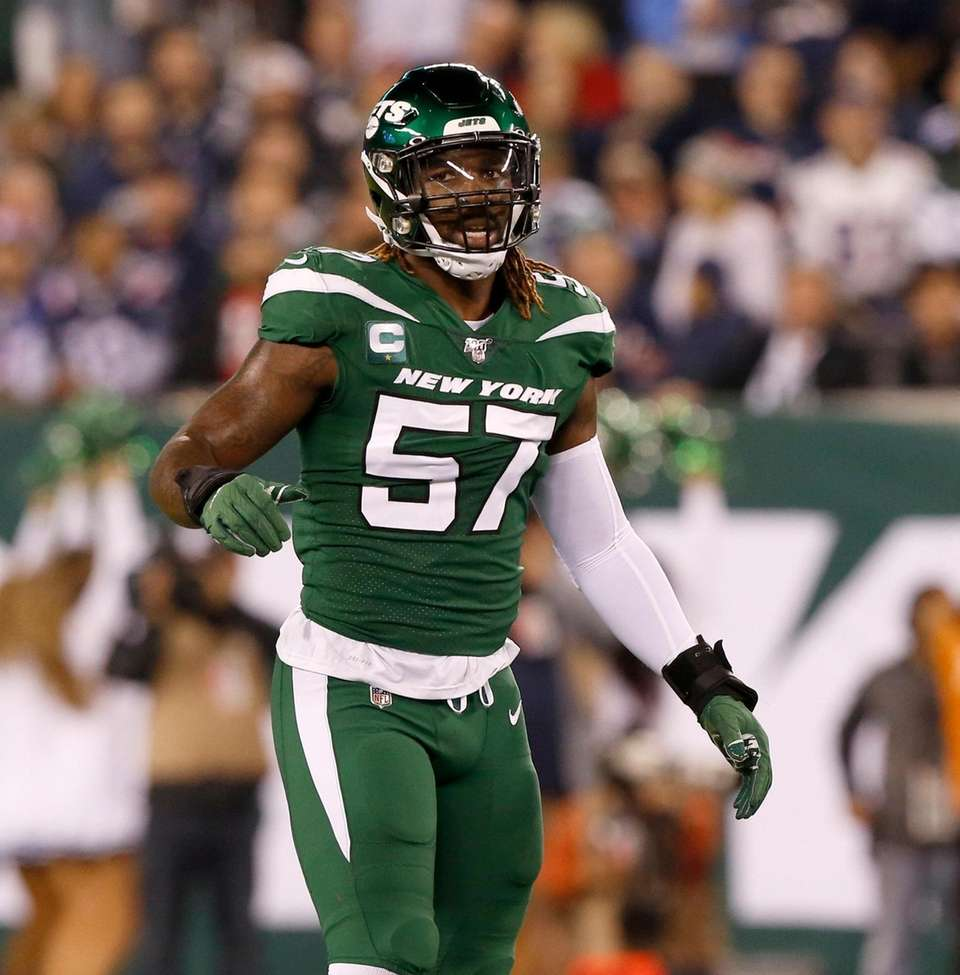C.J. Mosley #57 of the New York Jets