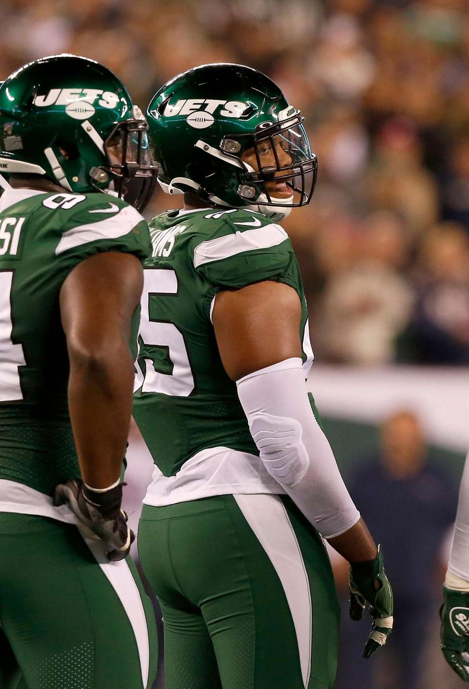 Quinnen Williams #95 of the New York Jets